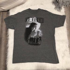 Star Wars XL Go Rogue Graphic Short Sleeve T-Shirt